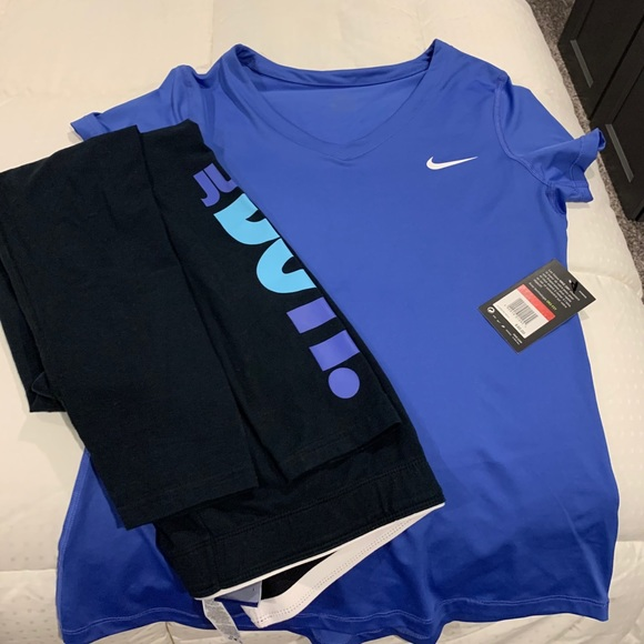 Nike leggings and top to match